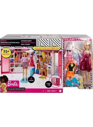 Barbie Gbk10 Barbie Ve Rüya Dolabı Oyun Seti / Barbie Ile Moda Ve Güzellik Renkli